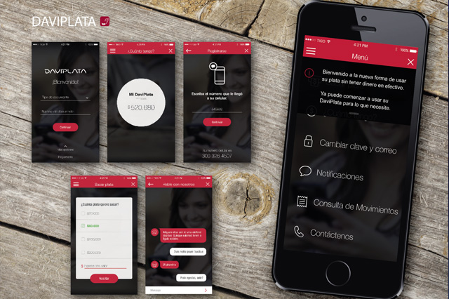 financial app Banco Davivienda