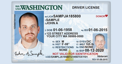 Valid ID cards driver licenses