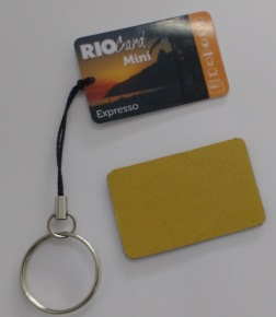 Valid RioCard payment public transportation