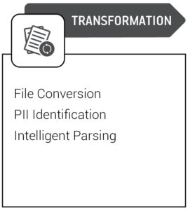 Data Quality Chart Transformation