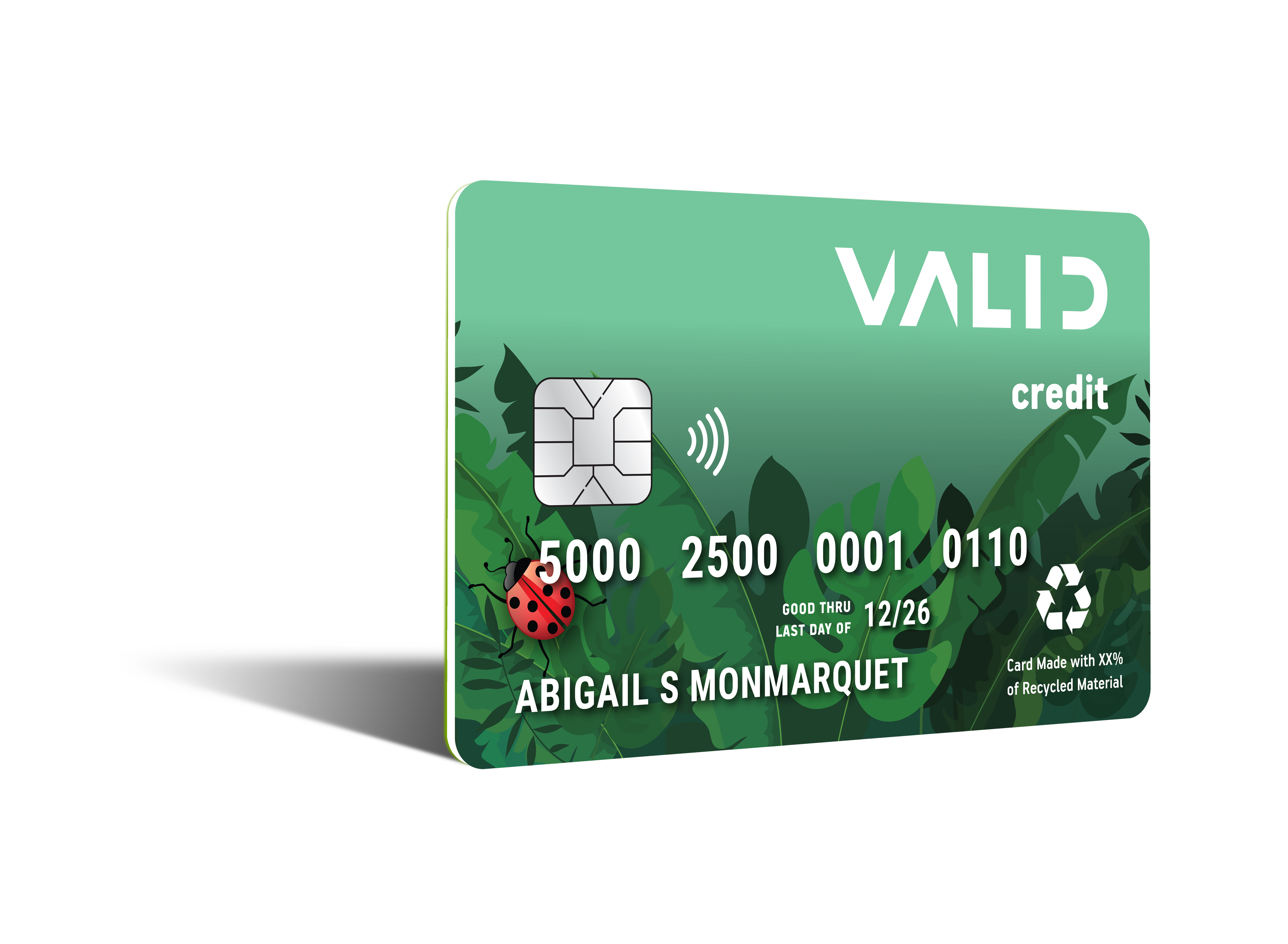 Recycled PVC Payment Card